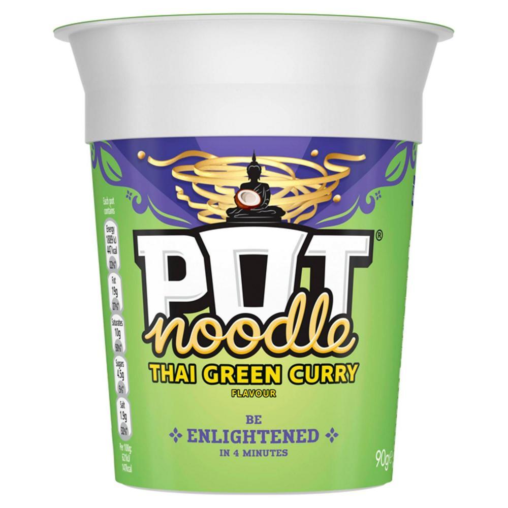 Pot Noodle Thai Green Curry Flavour 90g