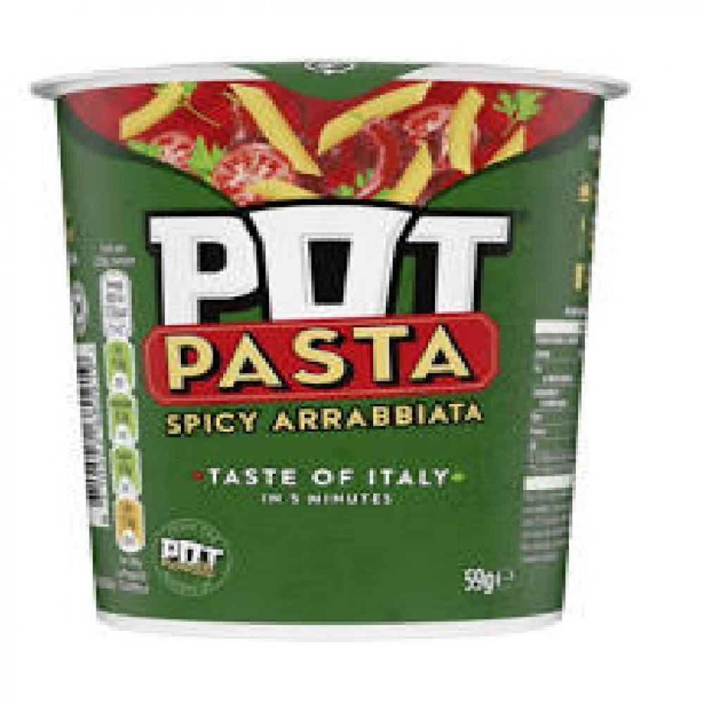 Pot Pasta Spicy Arrabbiata 59g
