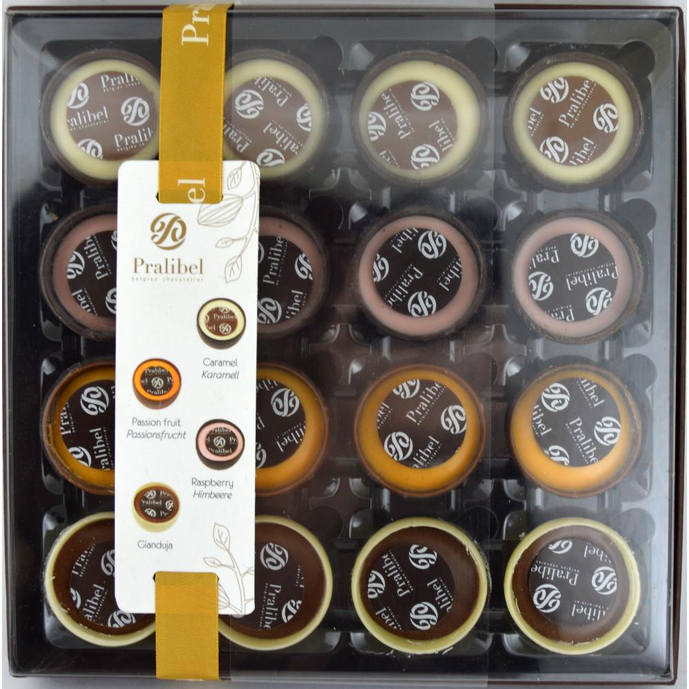 Pralibel Assorted Chocolate Cups 220g