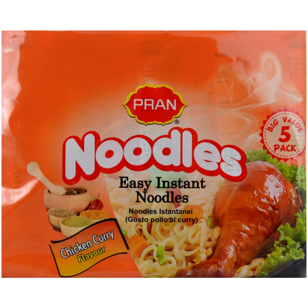 Pran Chicken Curry Flavour Noodles 5 pack