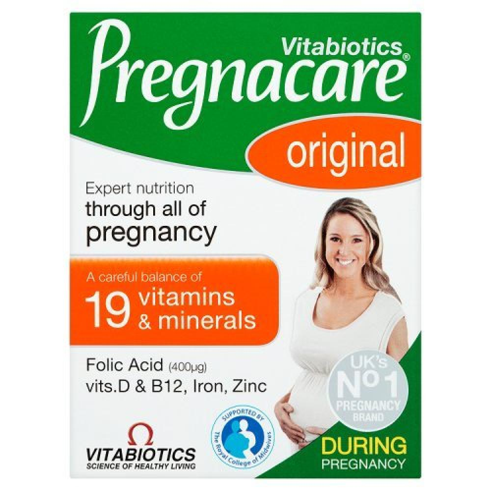 SKIP  Vitabiotics Pregnacare Original 30 Tablets Damaged Box