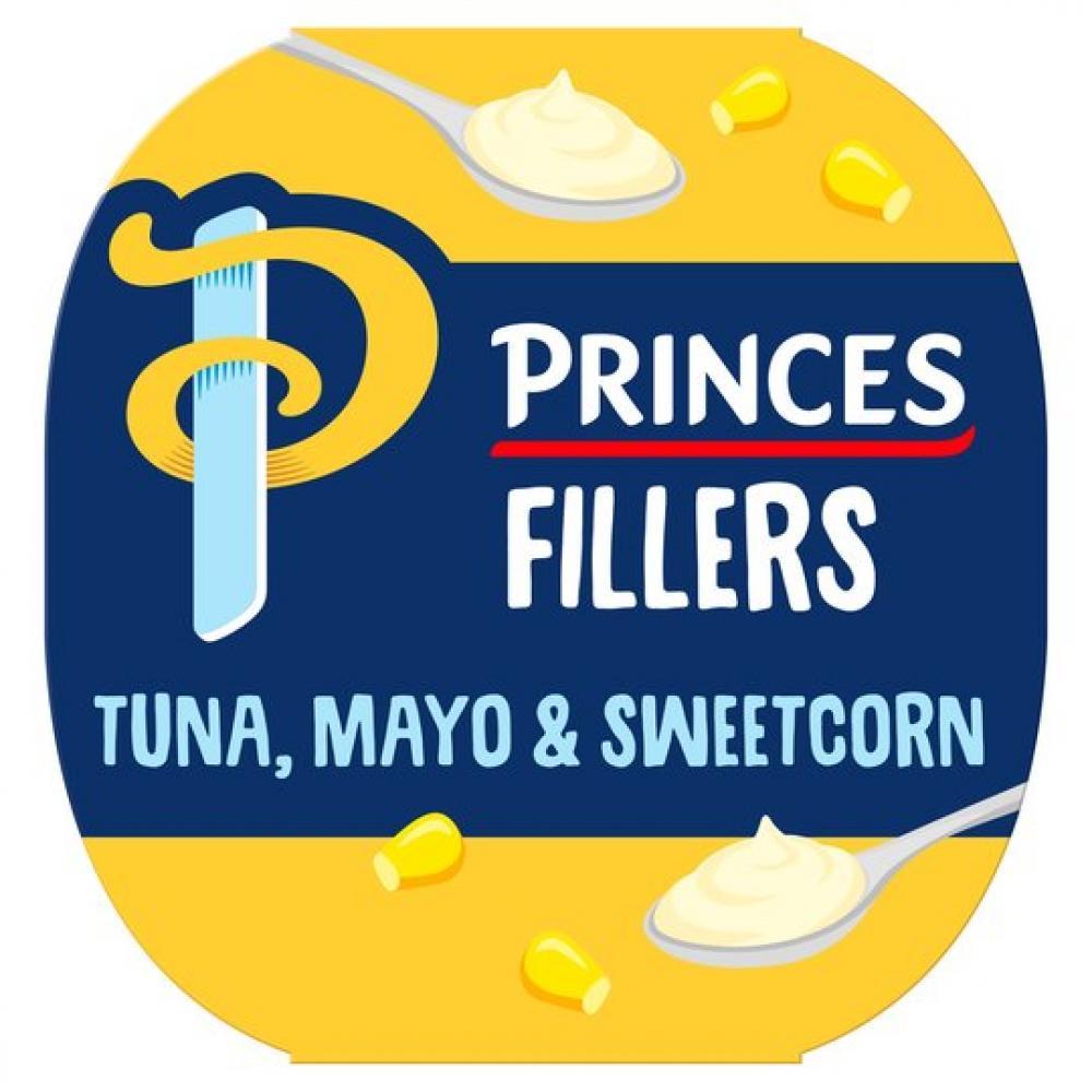 Princes Fillers Tuna Mayo and Sweetcorn 85g