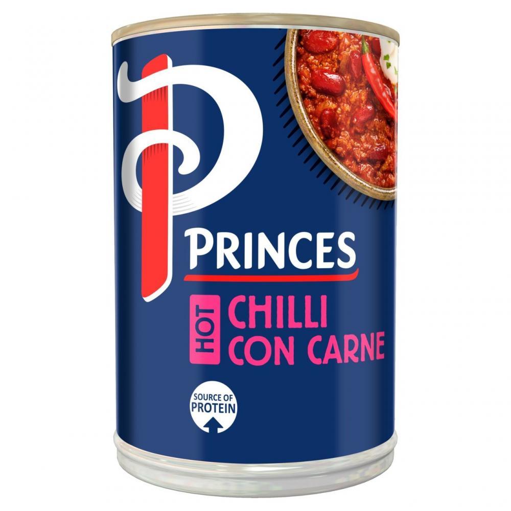 Princes Hot Chilli Con Carne 392g