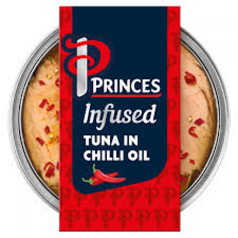 Princes Infused Tuna In Chilli Oil 120g