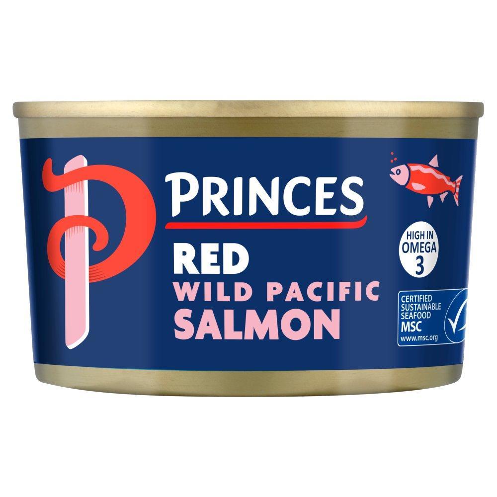 Princes Red Wild Pacific Salmon 213g