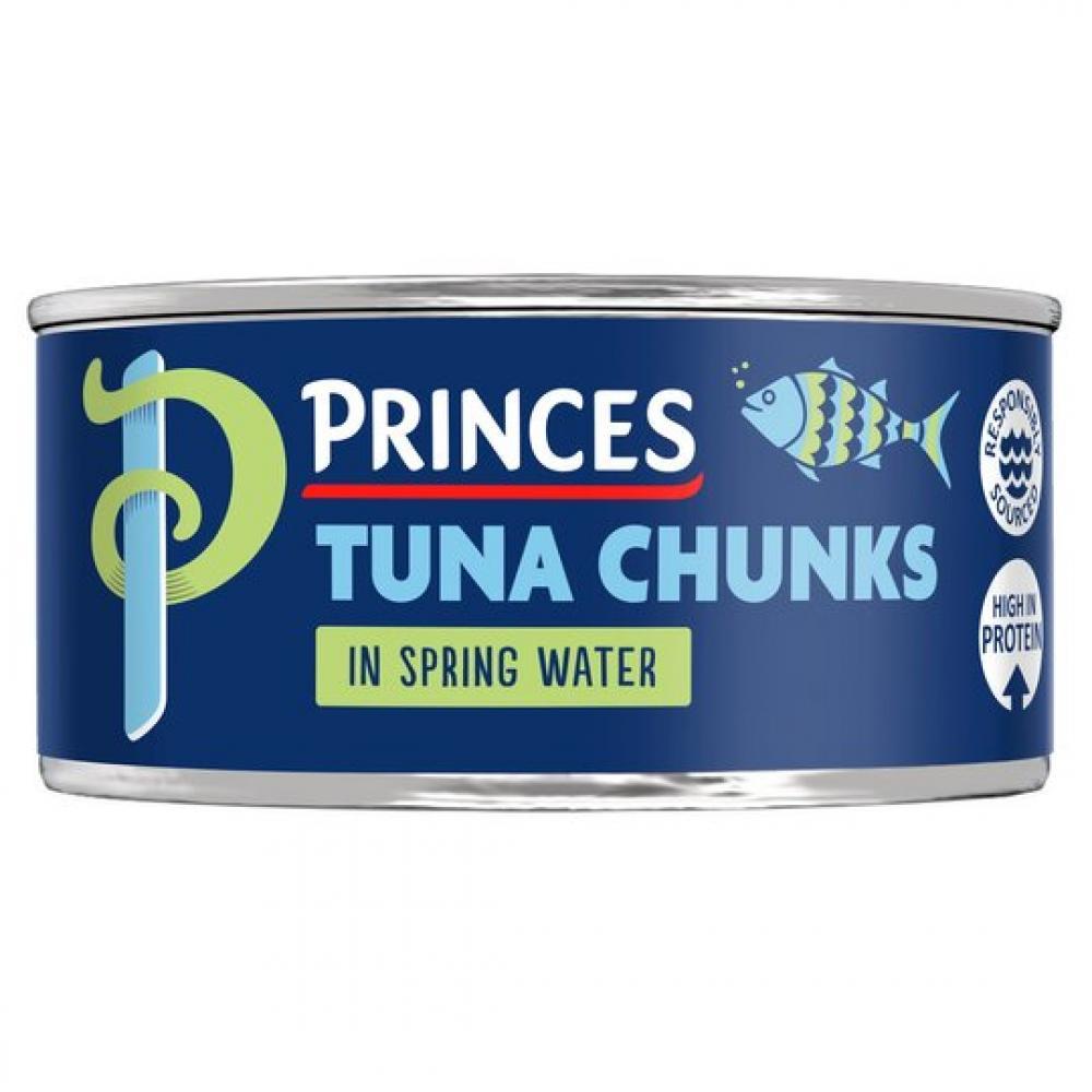 Princes Tuna Chunks in Spring Water 145g