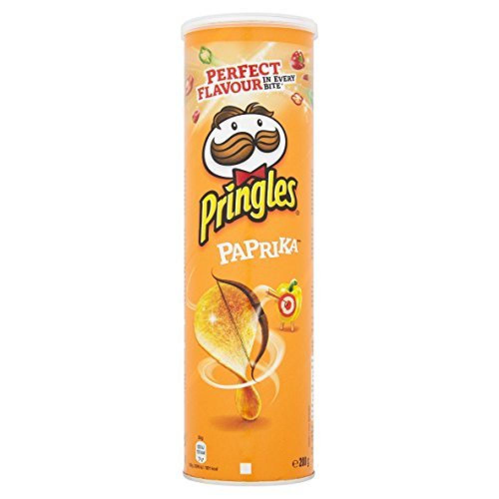 Pringles Paprika Crisps 200g