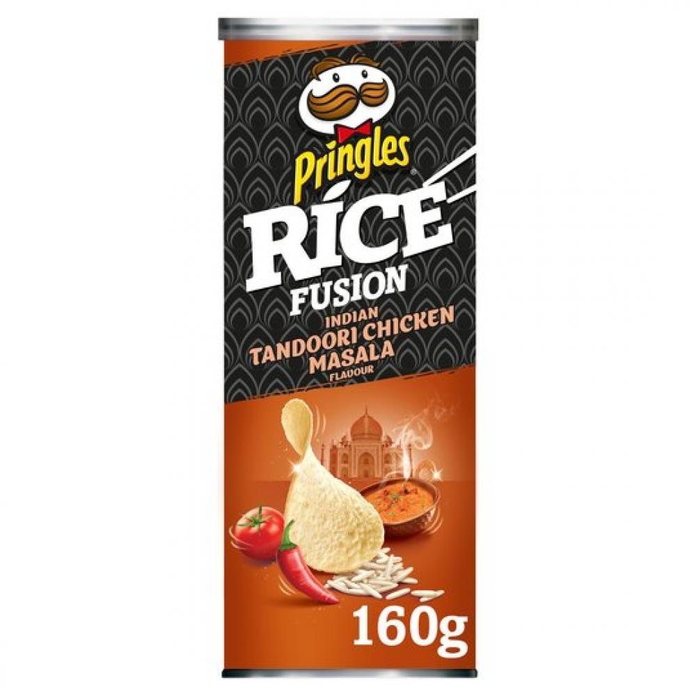 Pringles Rice Fusion Indian Tandoori Chicken Masala 160g