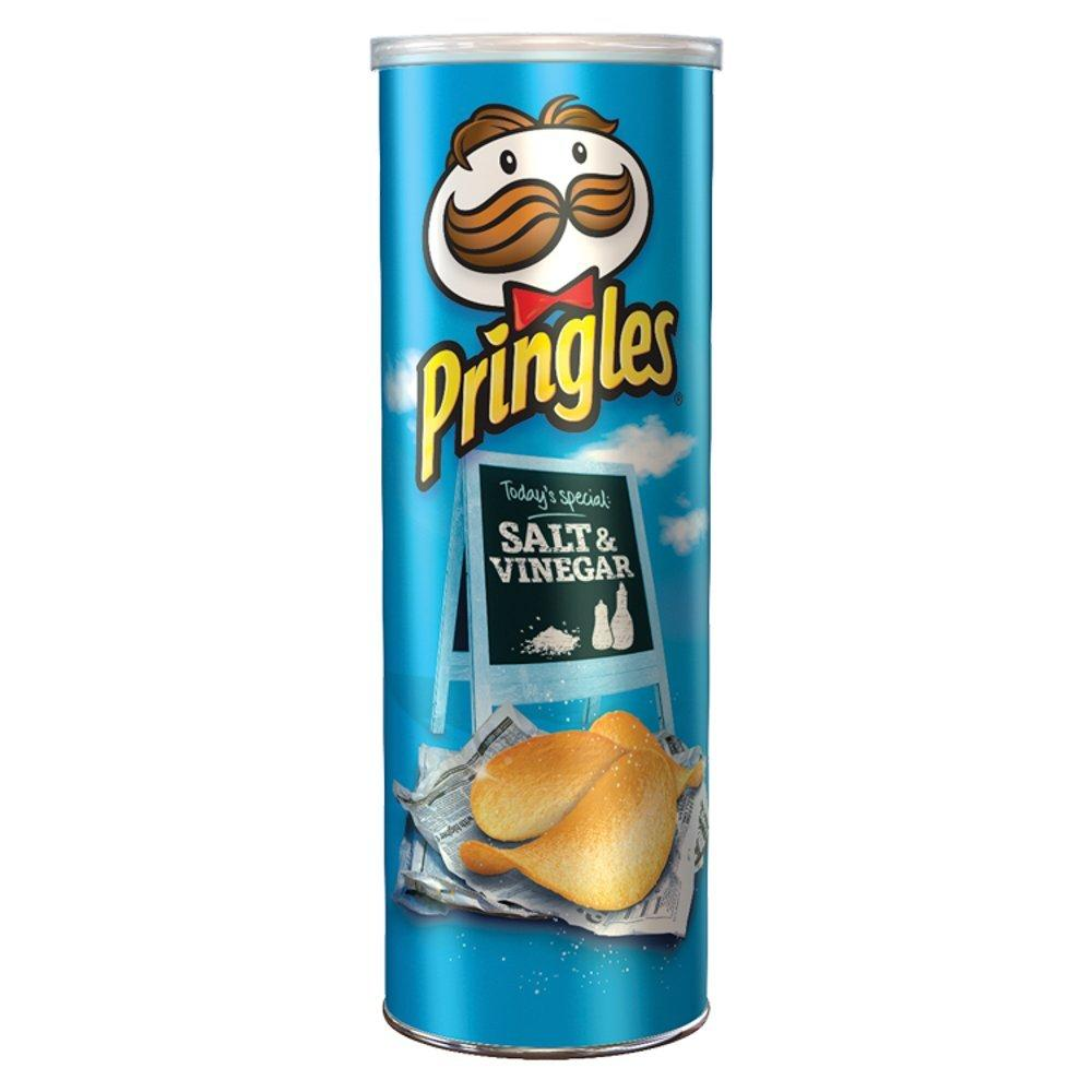 Pringles Salt and Vinegar Potato Crisps 200g