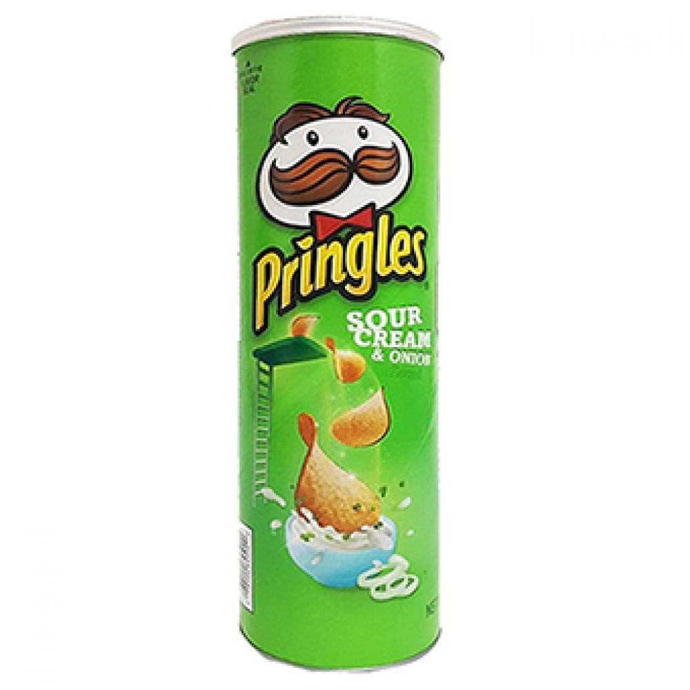 SALE  Pringles Sour Cream and Onion Crisps 130g