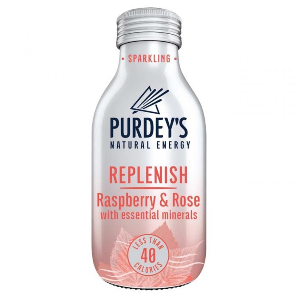 Purdeys Replenish Raspberry and Rose 330ml
