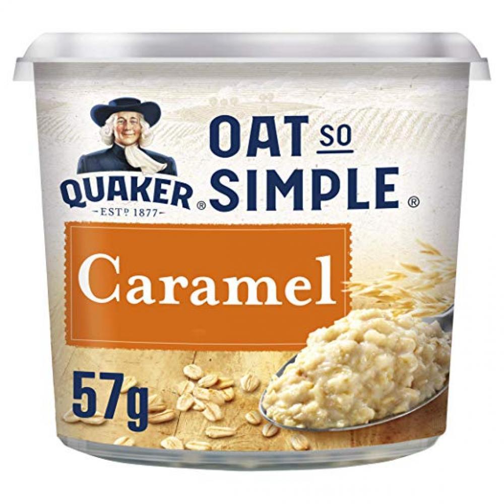 Quaker Oat So Simple Caramel Flavour Porridge Pots 57 g