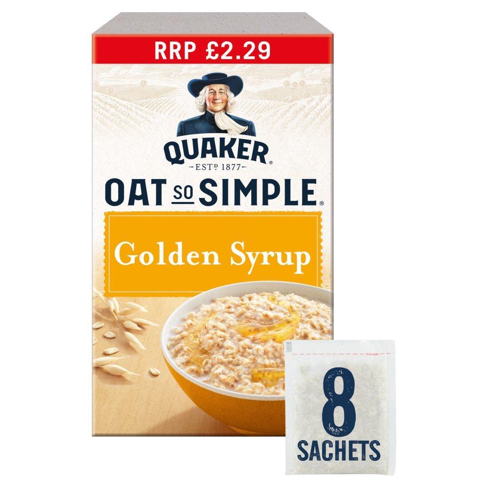 Quaker Oat So Simple Golden Syrup Porridge 36g