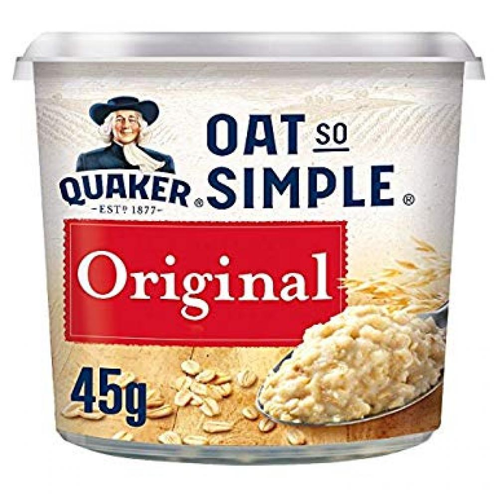 Quaker Oat So Simple Original Porridge Pot 45 g