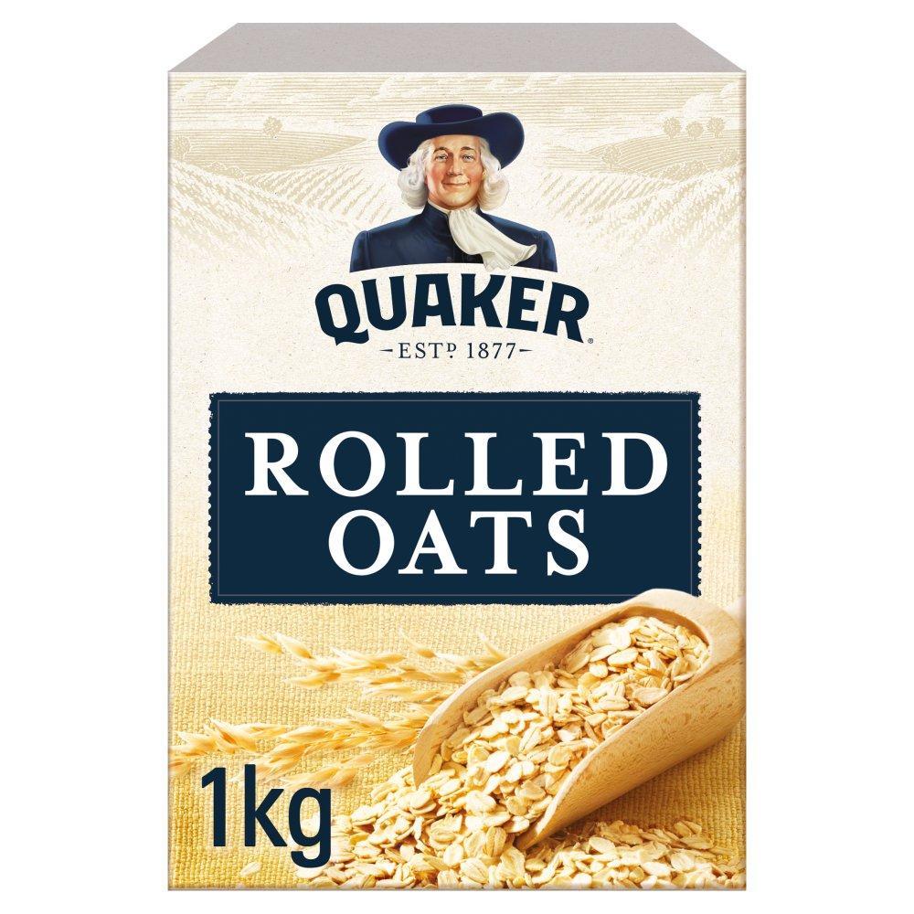 Quaker Oats Wholegrain Rolled Oats 1kg