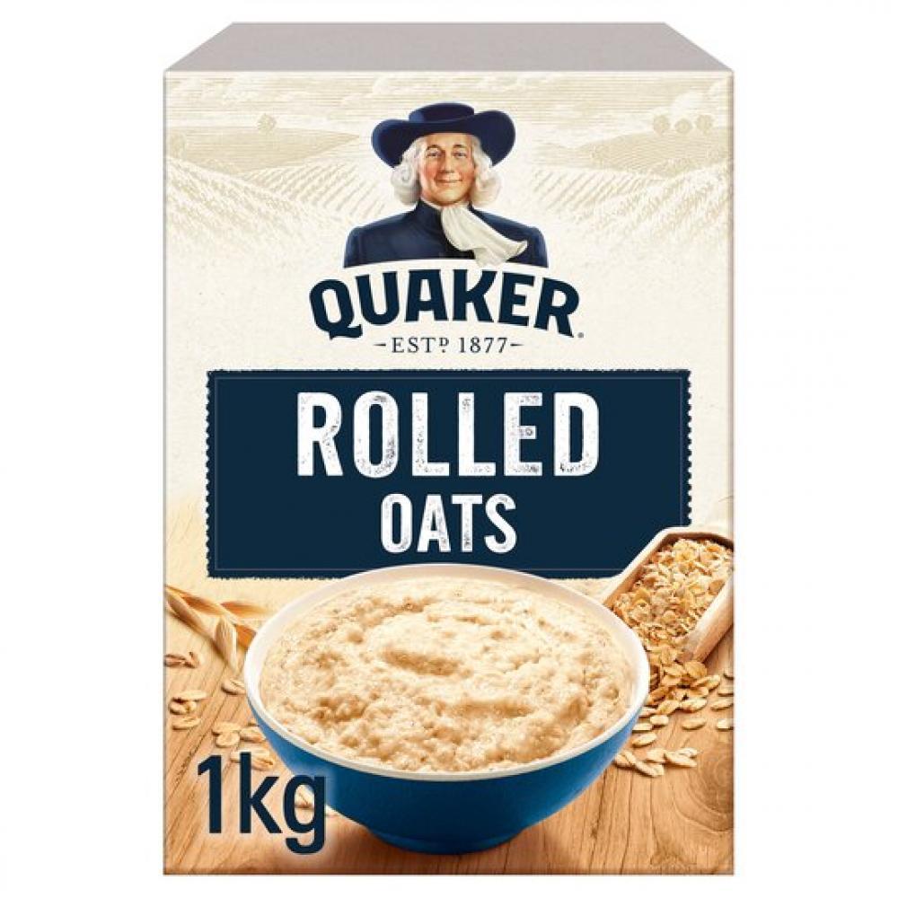 Quaker Rolled Oats 1kg