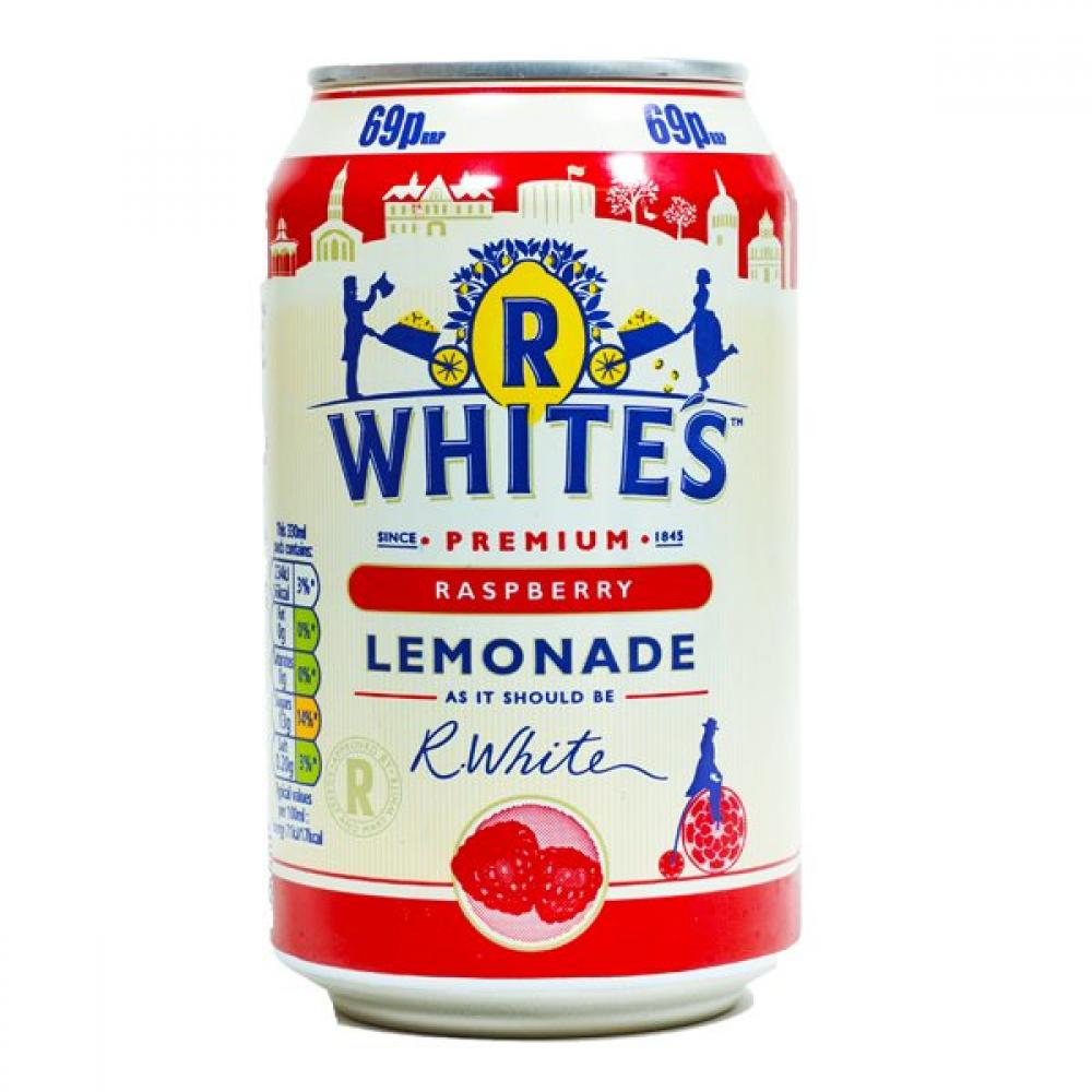 R Whites Raspberry Lemonade 330ml