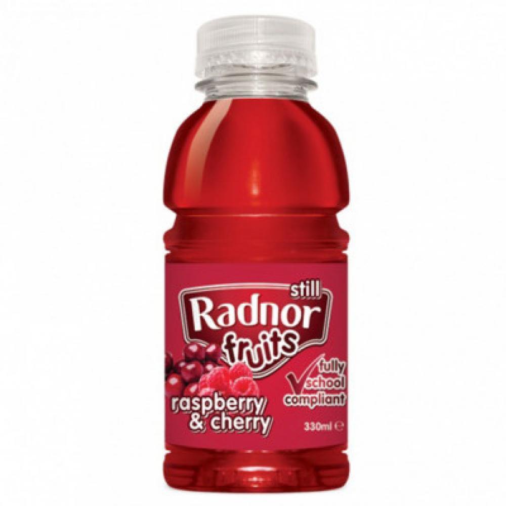 Radnor Still Fruits Raspberry and Cherry 330ml