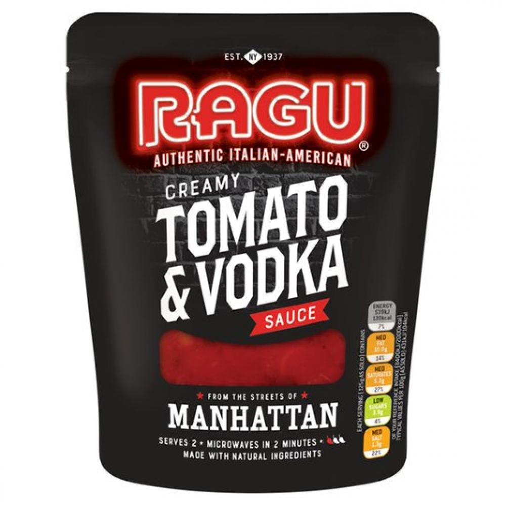 Ragu Creamy Tomato and Vodka Sauce 250g