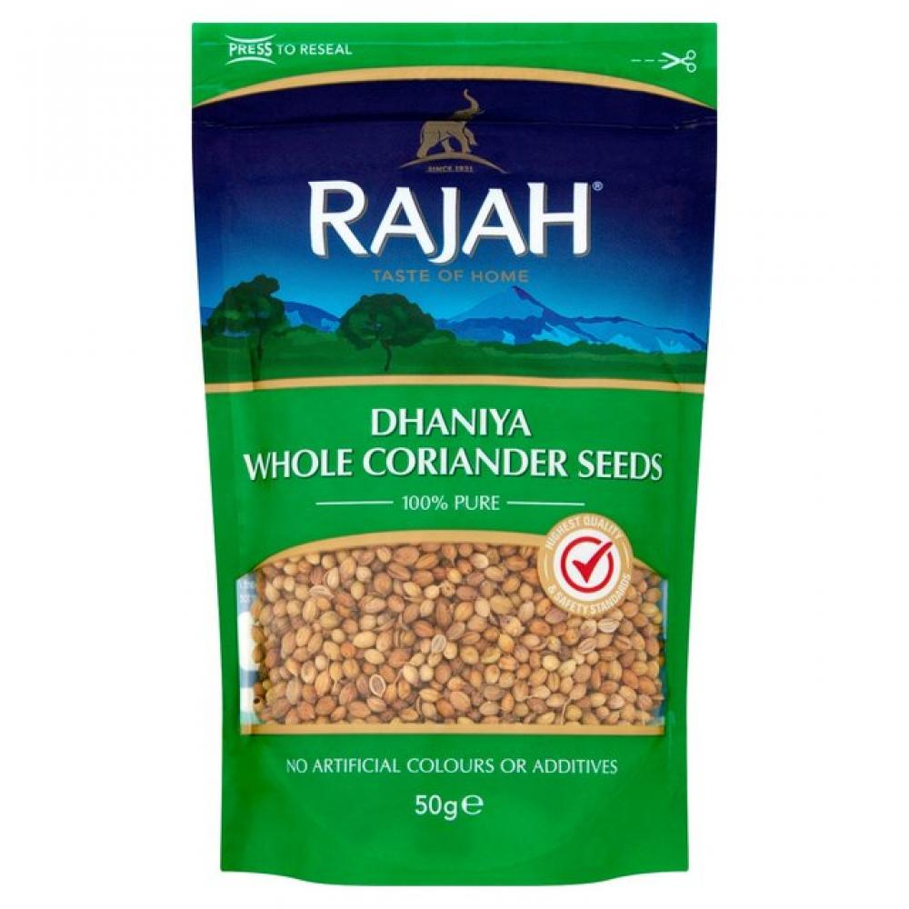 Rajah Dhaniya Whole Coriander Seeds 50g