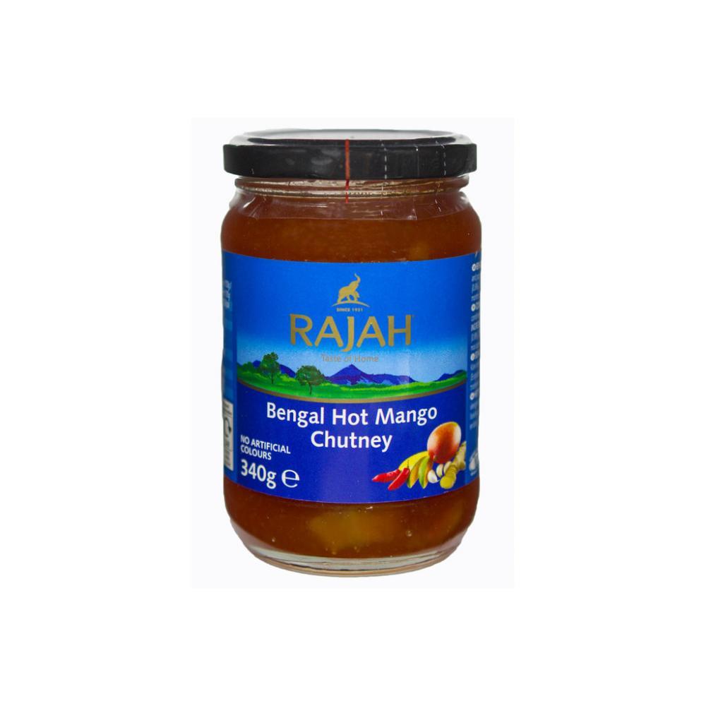Rajah Hot Mango Chutney 340g
