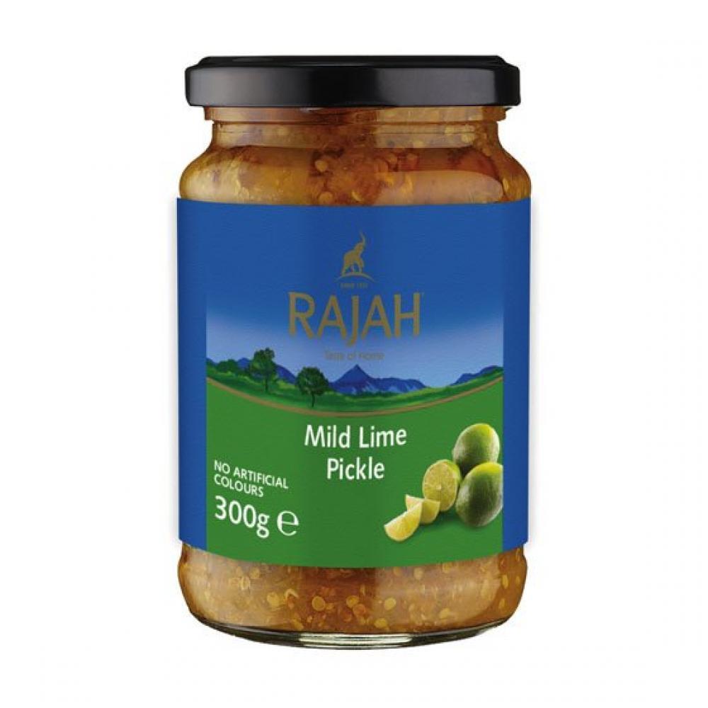 SALE  Rajah Mild Lime Pickle 300g