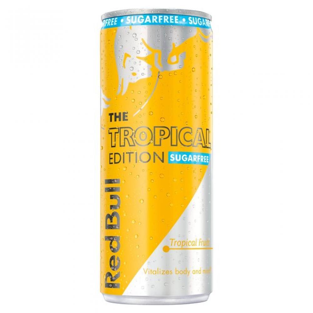 Red Bull Sugar Free Tropical Edition 250ml