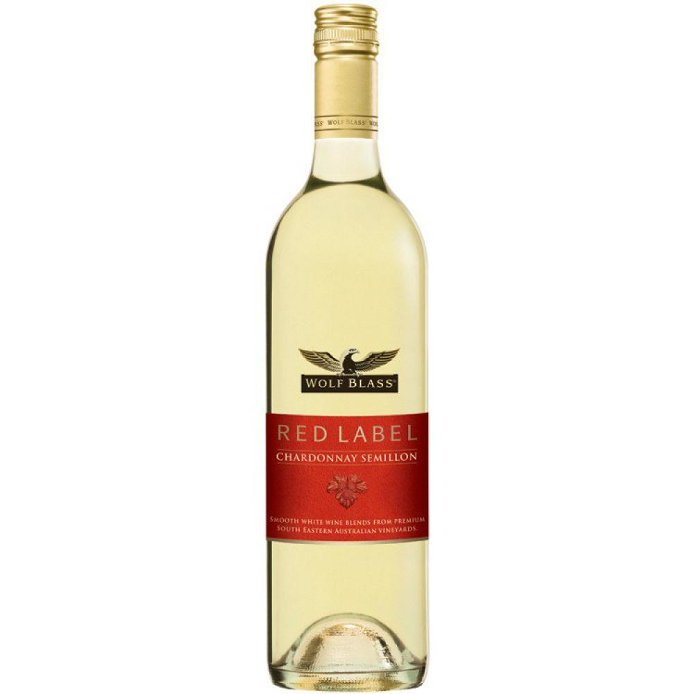 Red Label Wolf Blass Chardonnay Semillon 75cl