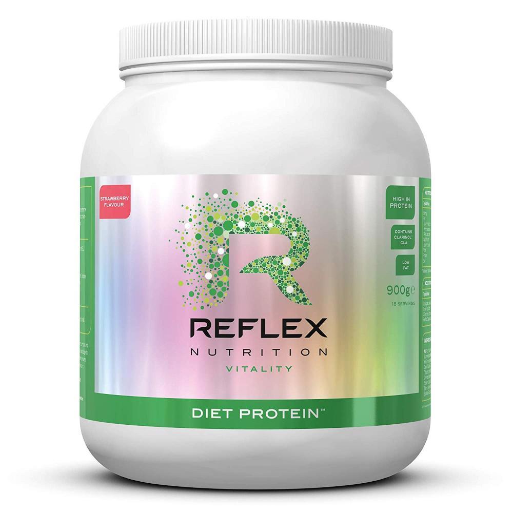 Reflex Nutrition Diet Protein Powder Strawberry 900 g