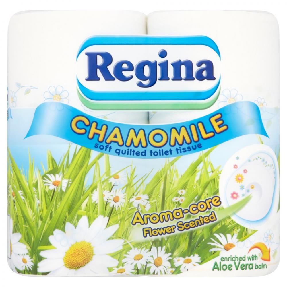 Regina Chamomile Toilet Tissue 4 Rolls