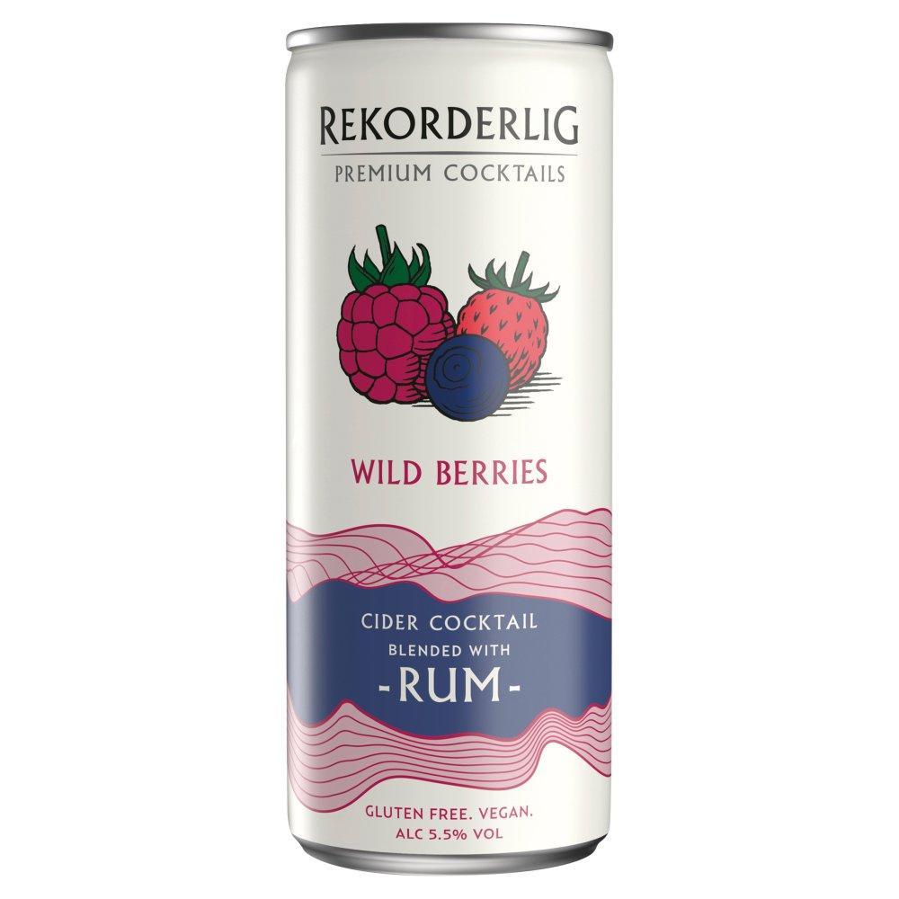 Rekorderlig Wild Berries and Rum 250ml