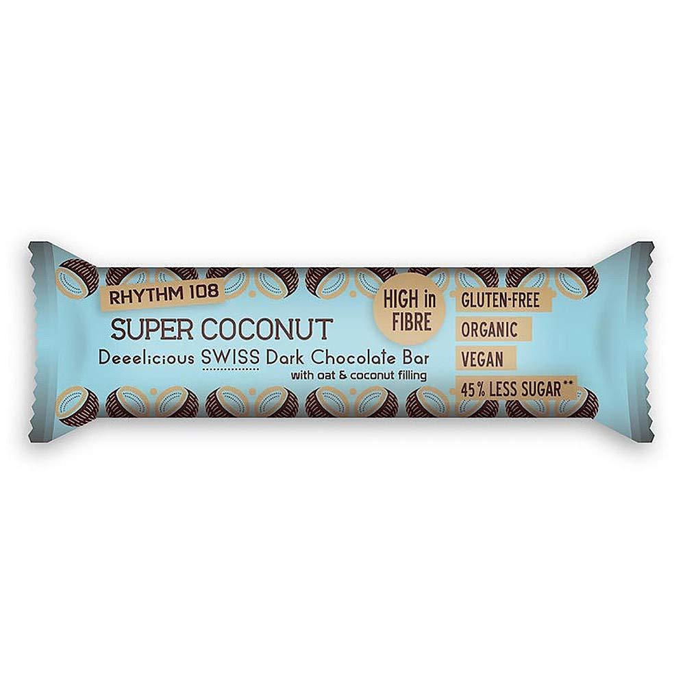 Rhythm 108 Super Coconut Swiss Chocolate Bar 33g