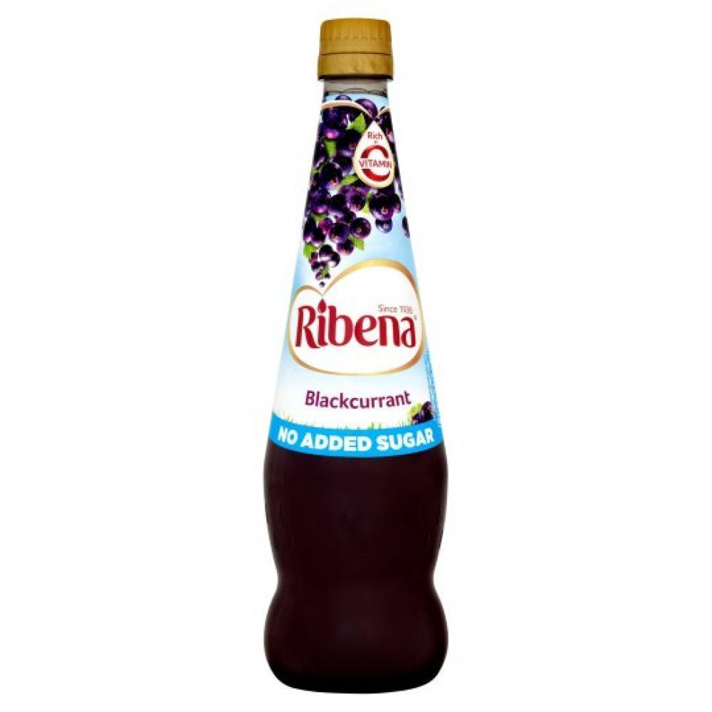 Ribena Blackcurrant No Added Sugar 850ml