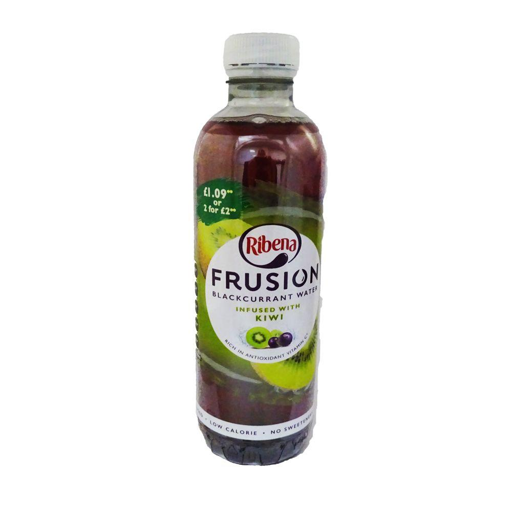 Ribena Frusion Kiwi Infused Blackcurrant Water 420ml
