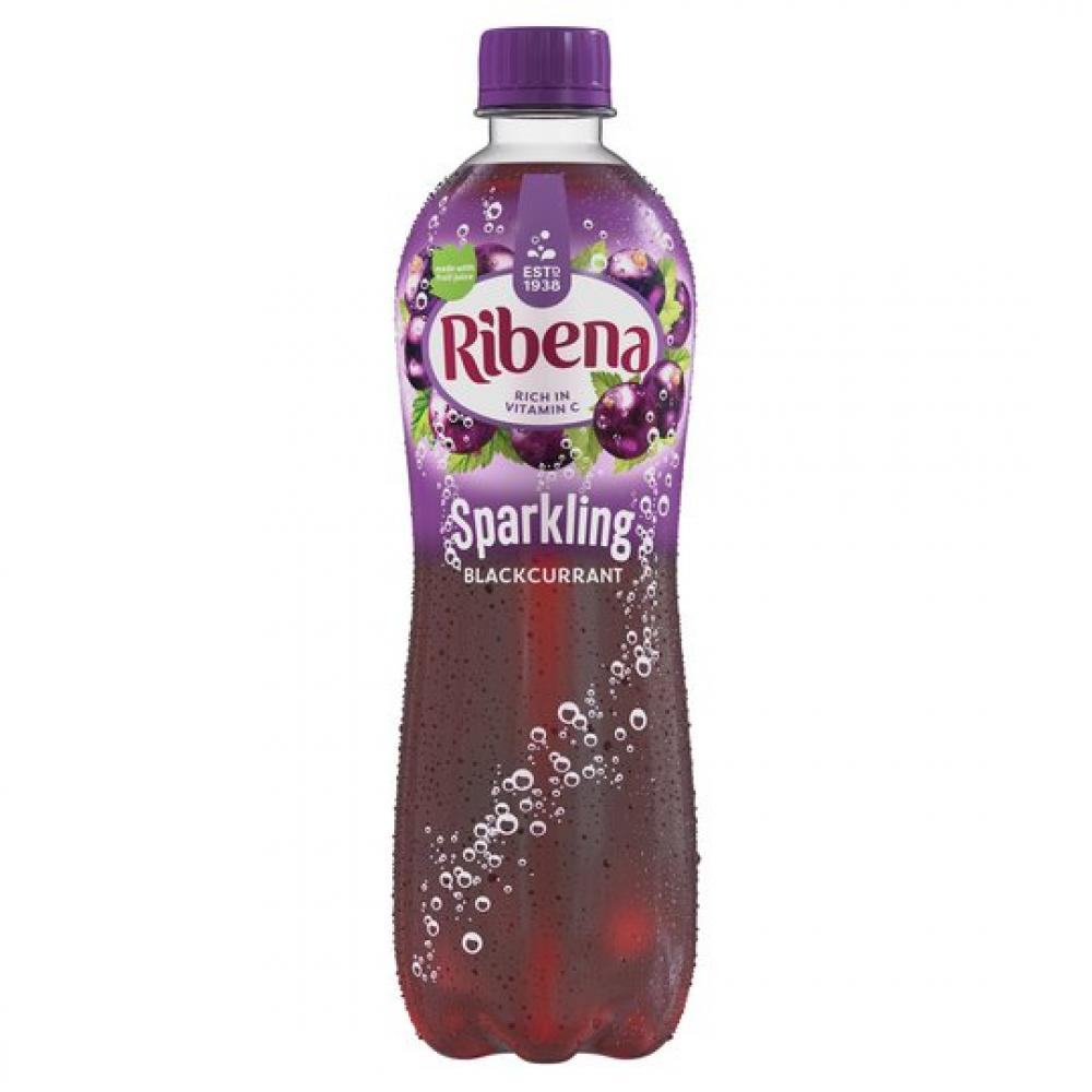 Ribena Sparkling Blackcurrant 500ml