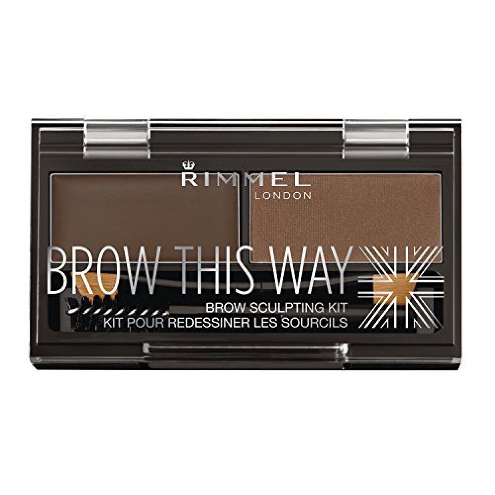 Rimmel Eyebrow Kit - Dark Brown