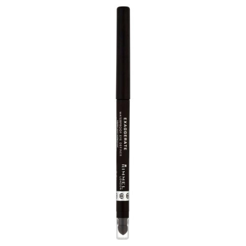 Rimmel London Exaggerate Waterproof Eye Definer Noir - 0.28 g