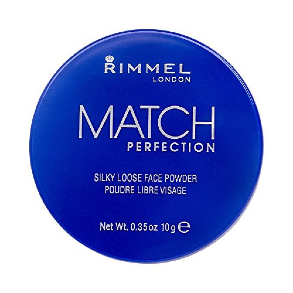 Rimmel Match Perfection Silky Loose Face Powder 001 Transparent 10 g