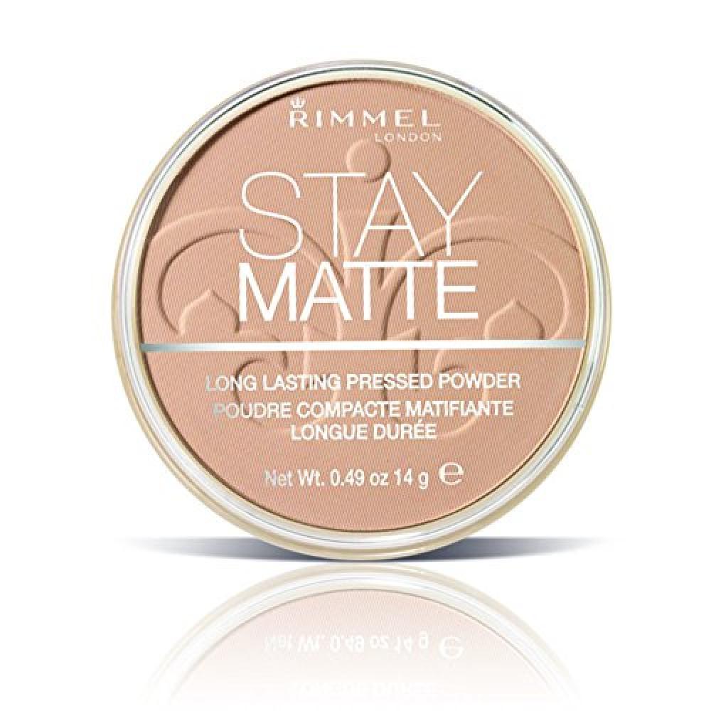 Rimmel Stay Matte Pressed Powder - Silky Beige 14 g