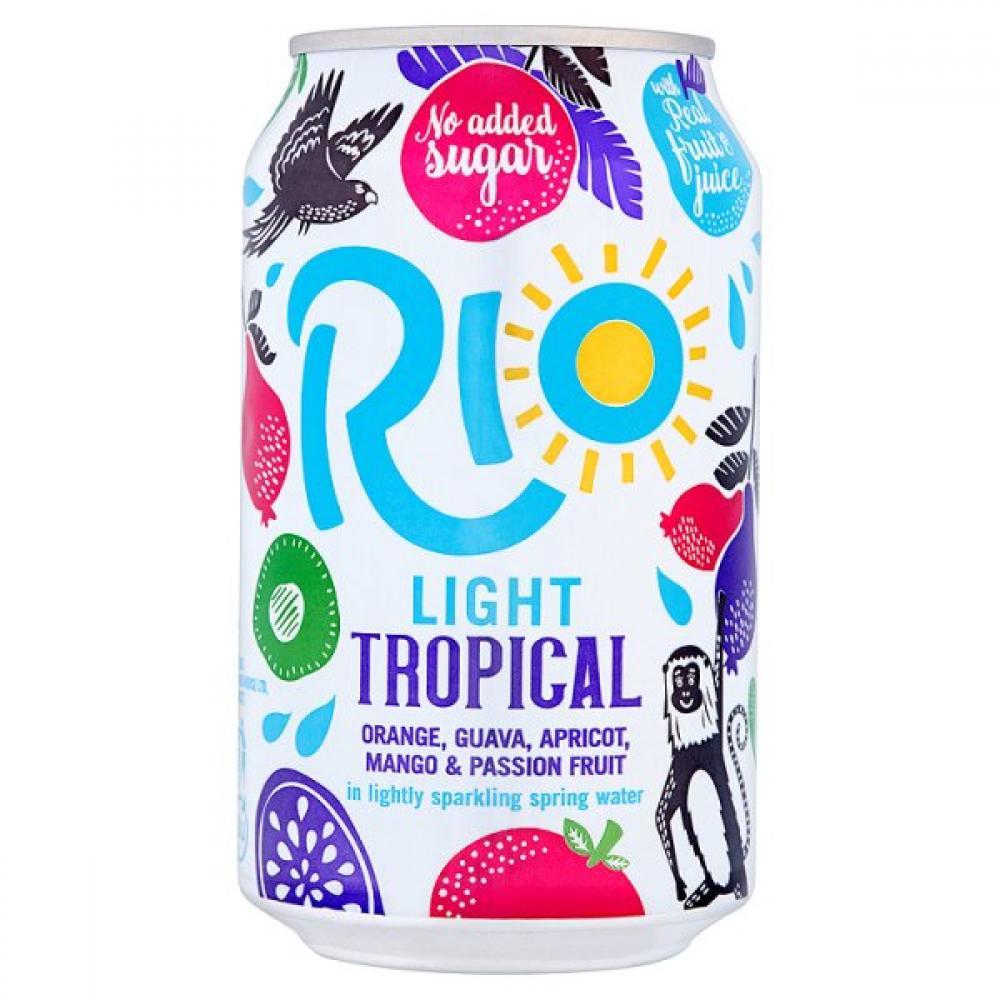 Rio Light Tropical 330ml