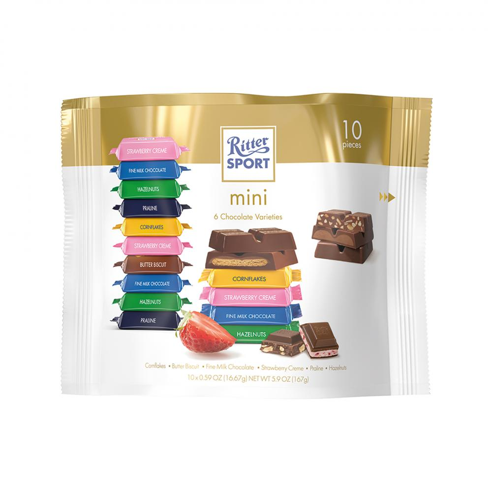 Ritter Sport Mini 10 Pieces 167g