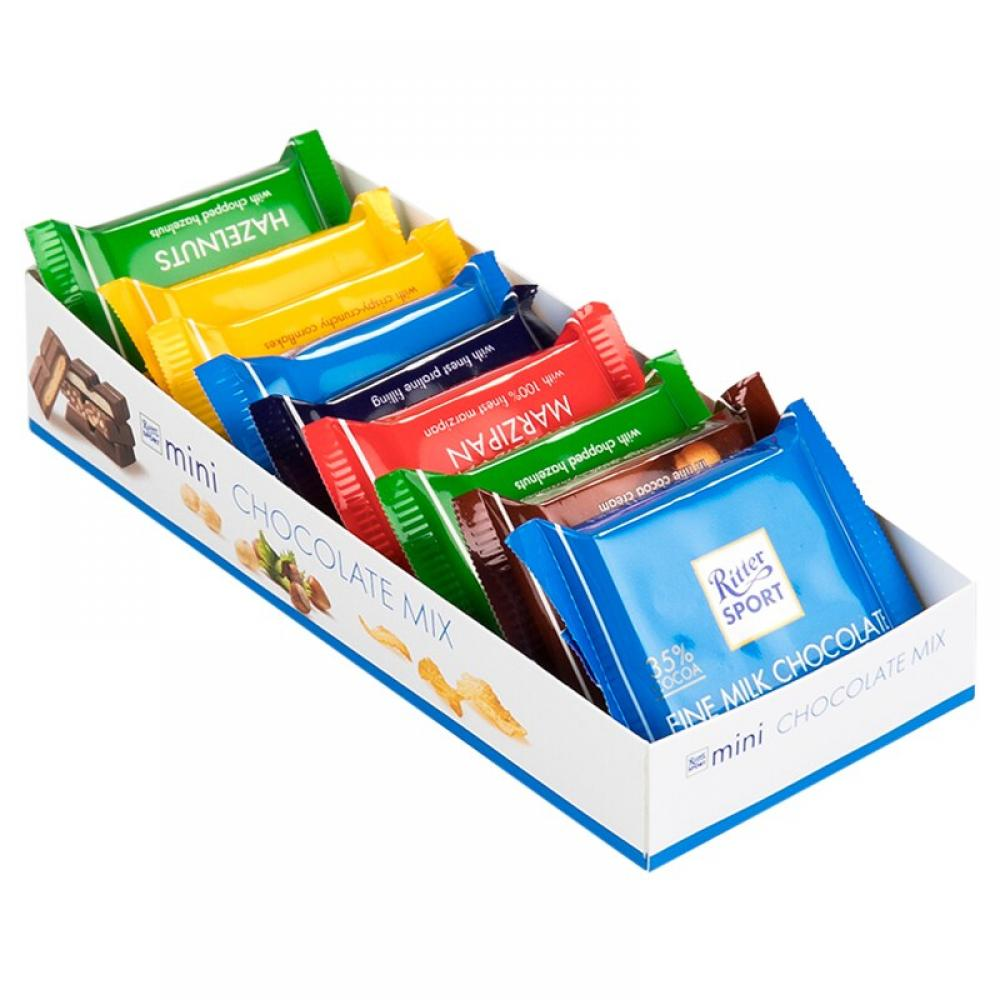 Ritter Sport Mini Chocolate Mix 9 Pack Approved Food