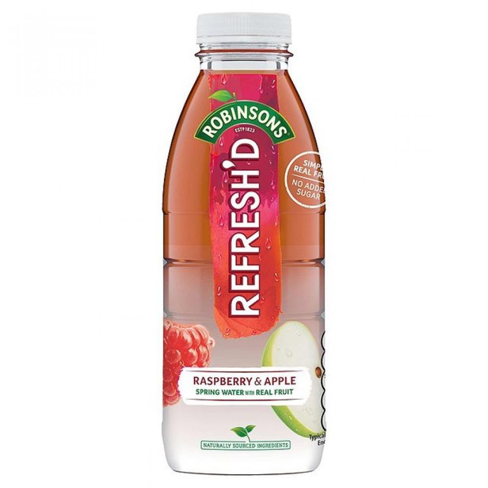 Robinsons Refreshd Raspberry and Apple Juice 500ml