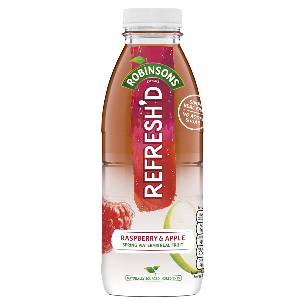 Robinsons Refreshed Raspberry and Apple 500ml