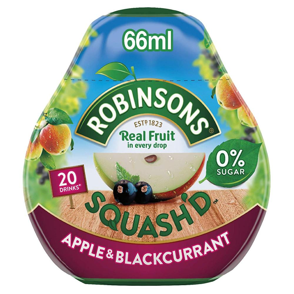 Robinsons Squashd Apple and Blackcurrant 66ml