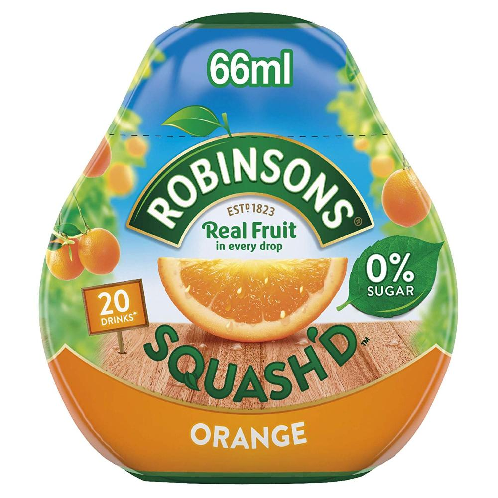 Robinsons Squashd Orange On-The-Go Squash 66ml
