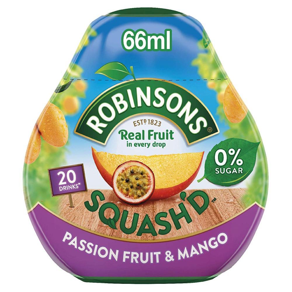 Robinsons Squashd Passion Fruit and Mango On-The-Go Squash 66ml