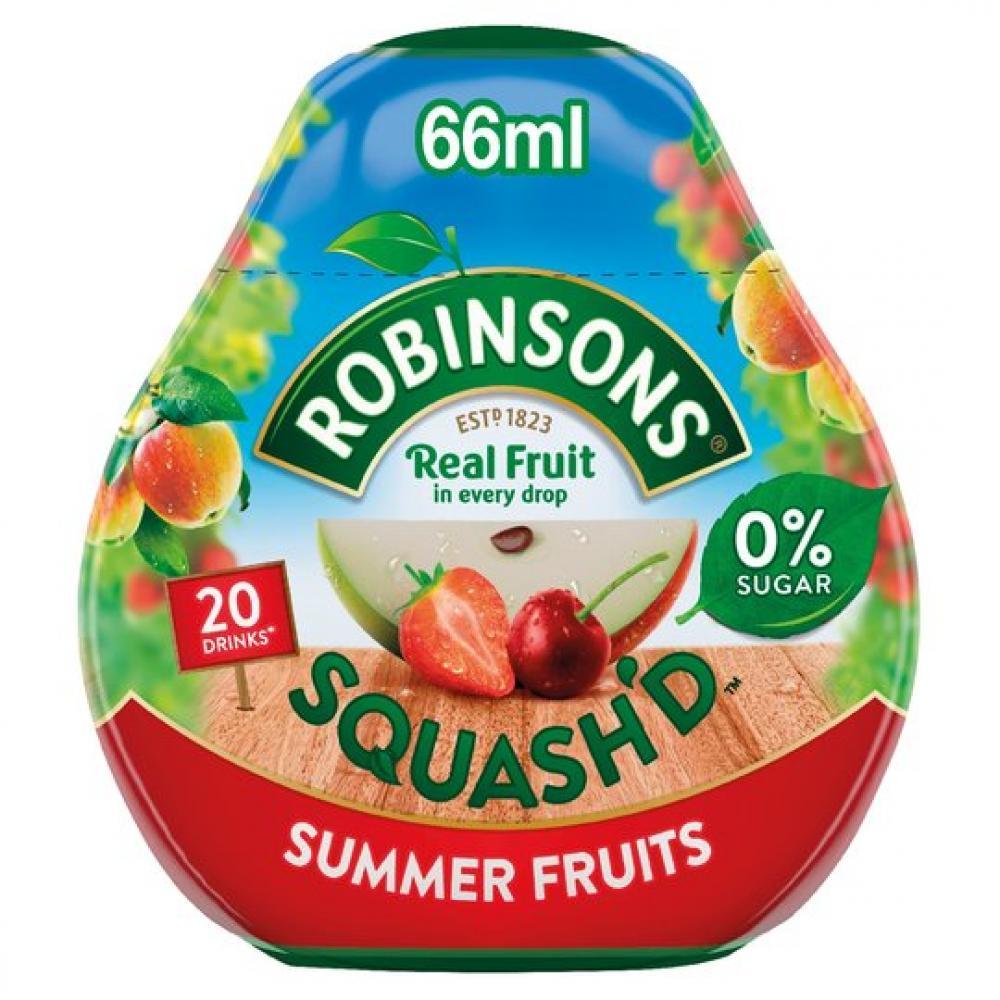Robinsons Squashd Summer Fruits 66ml