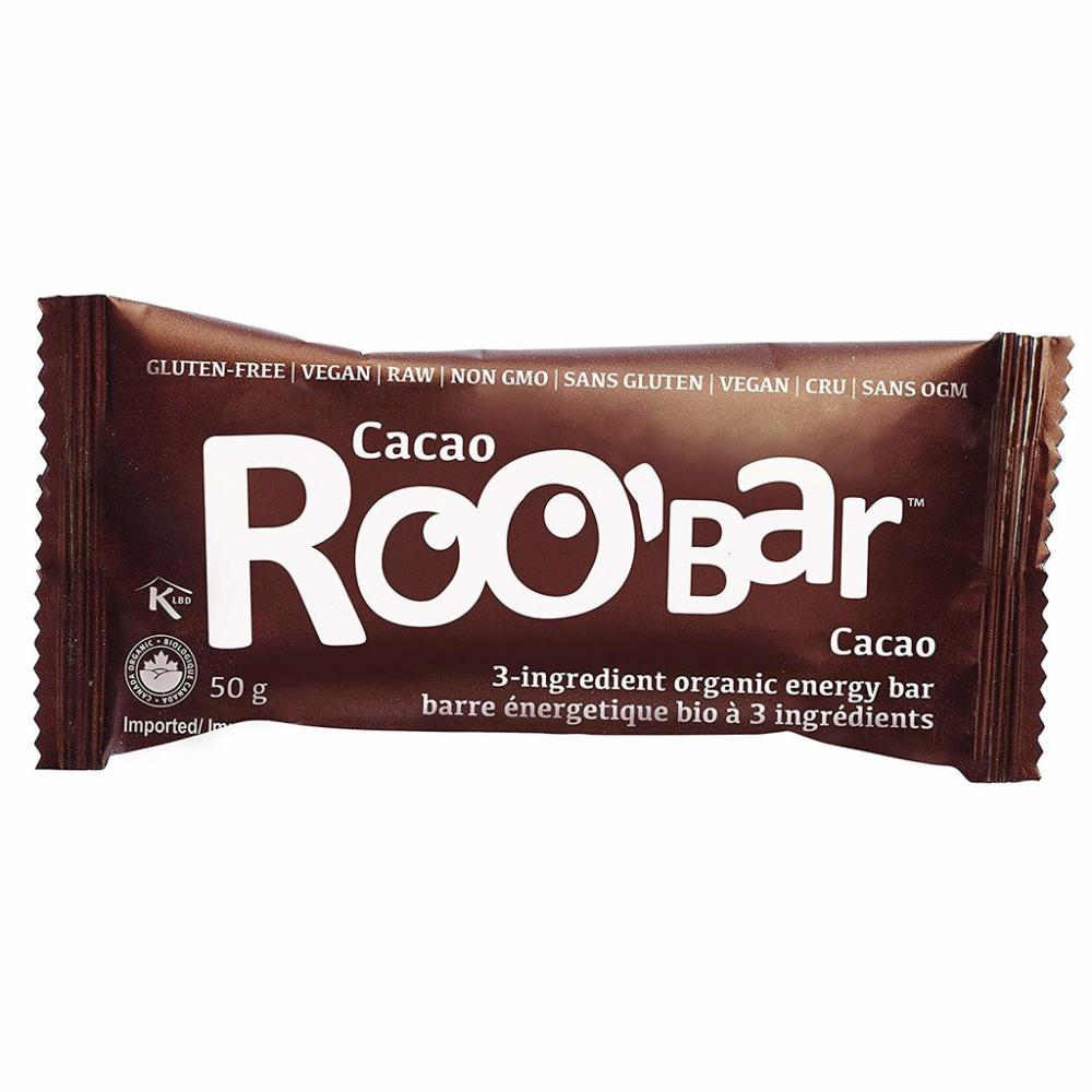 Roobar Organic Fruit And Nut Cacao Flavour 50g
