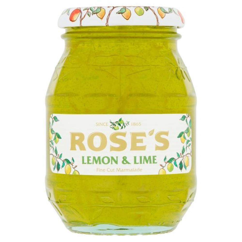 Roses Lemon And Lime Fine Cut Marmalade 454g